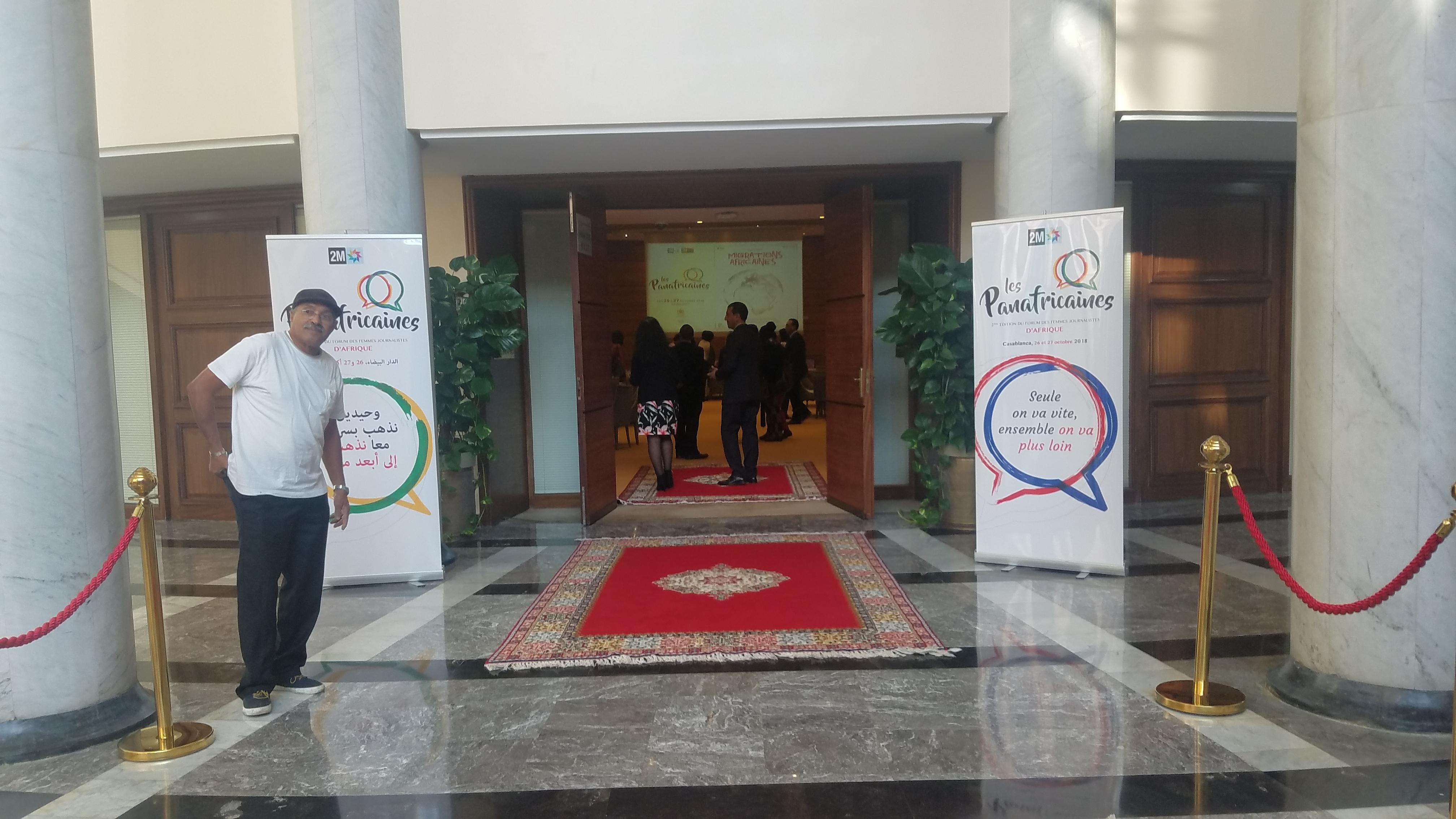 Rabat, Maroc, echange avec le ministre des Affaires extérieures et de la Coopération